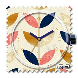 STAMPS Cadran de montre twin leafs