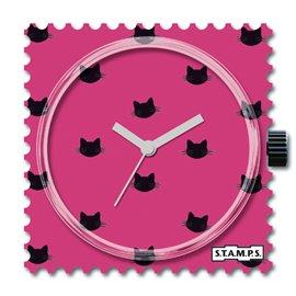 STAMPS Cadran de montre pink cat