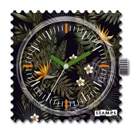 S.T.A.M.P.S. Cadran waterproof de montre night zoo