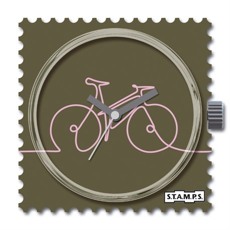 S.T.A.M.P.S. Cadran waterproof de montre bike