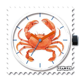 STAMPS Cadran de montre crab