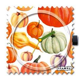 STAMPS Cadran de montre pumpkin