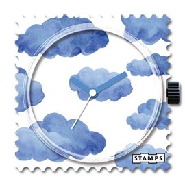 STAMPS Cadran de montre blue cloud