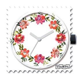STAMPS Cadran de montre diamond floral swarovski