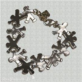 Bracelet Dolce Vita petit homme argent