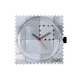 STAMPS Cadran de montre diamond square swarovski