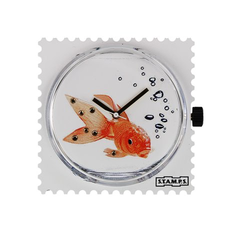 STAMPS Cadran de montre diamond godfish swarovski