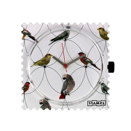 STAMPS Cadran de montre diamond birds swarovski