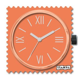 STAMPS Cadran de montre fresh coral
