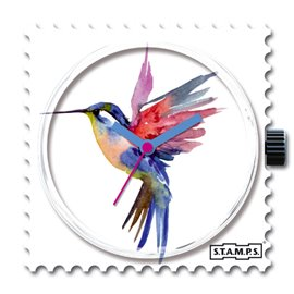STAMPS Cadran de montre humming bird