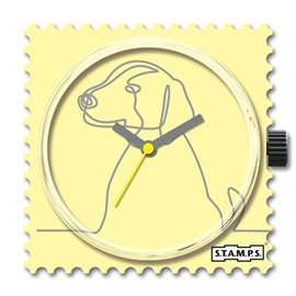 STAMPS Cadran de montre lovely dog