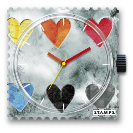STAMPS Cadran de montre collecting hearts