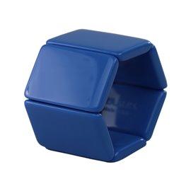 Bracelet élastique de montre Stamps belta bleu mosaïc