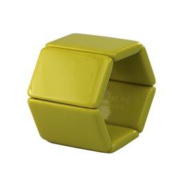 Bracelet élastique de montre Stamps belta jaune lemon