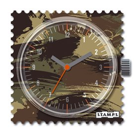 Cadran waterproof de montre Stamps sergeant