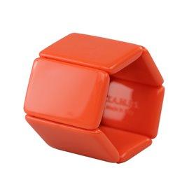 Bracelet élastique de montre Stamps belta classic corail