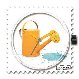 STAMPS Cadran de montre Blue Splash
