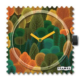 STAMPS Cadran de montre Blue Splash