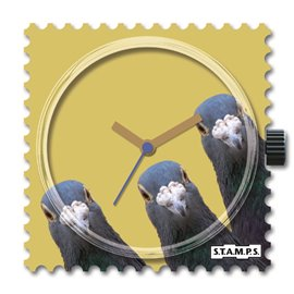 STAMPS Cadran de montre Rough Sea