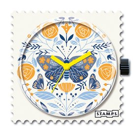 STAMPS Cadran de montre Bloomy Butterfly