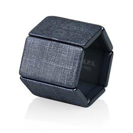 Bracelet de montre Stamps Belta Structure Noir
