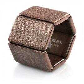 Bracelet élastique de montre Stamps belta cuivre structuré