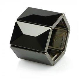 Bracelet élastique de montre Stamps belta métal noir