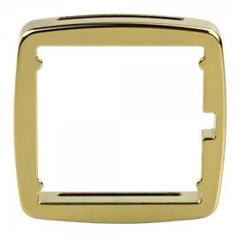 Entourage de cadran Stamps Jack métal or brillant