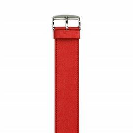 Bracelet de montre écologique Stamps StampsTexx Rouge