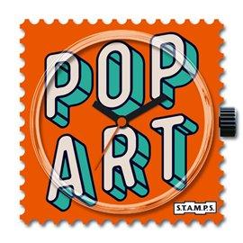 STAMPS Cadran de montre Pop Art