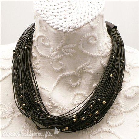 collier-fantaisie-lacet-cuir-gris-et-perles-argent-s30-bijou-createur-manouk-ref-00153