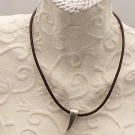 collier-fantaisie-aliacorail-ras-de-cou-lien-de-cuir-marron-s-bijou-createur-lxxv-ref-00434