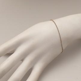 Bracelet fantaisie chaine argent